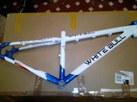 Telaio White Bull bambino nuovo bianco/blu
