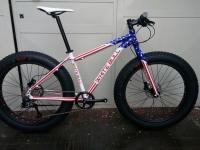 White Bull Fat Bike usa NUOVA